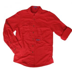 chemise homme rouge (8047)