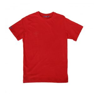 t-shirt rouge homme (8037)