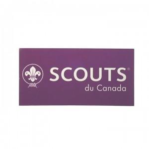 autocollant scouts du canada (1012348)