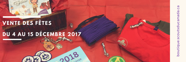 Bannère vente des fêtes 2017