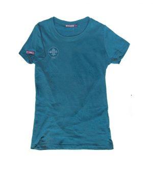 T-Shirt Femme Bleu