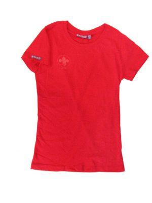 T-Shirt Femme Rouge