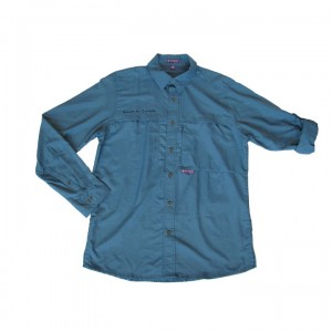 chemise bleue homme (8049)