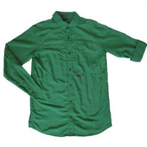 chemise enfant verte (8045)